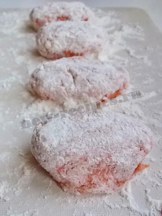 Лососевый фарш котлеты рецепт с фото пошагово