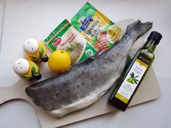 красная рыба на гриле (1)