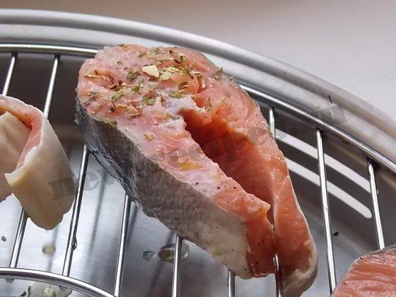 красная рыба на гриле (4)