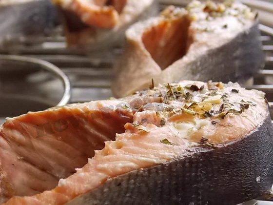 красная рыба на гриле (7)