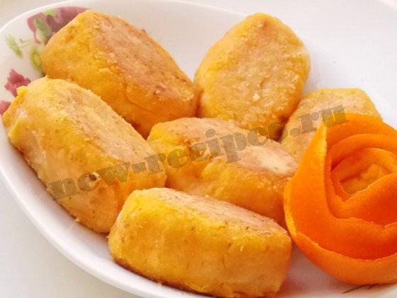 Морковно-яблочные котлеты, пошаговый рецепт с фото
