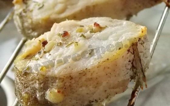 рыба на сковороде гриль (1)