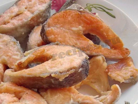 жареная красная рыба фото рецепт