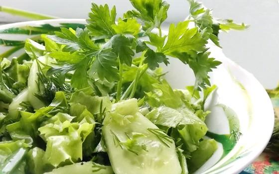 листовой салат рецепт