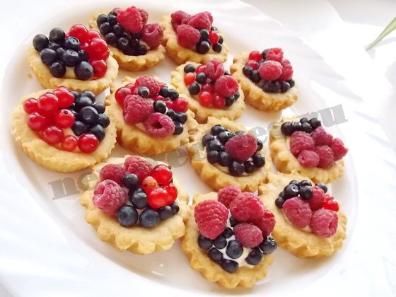 тартинки с ягодами фото