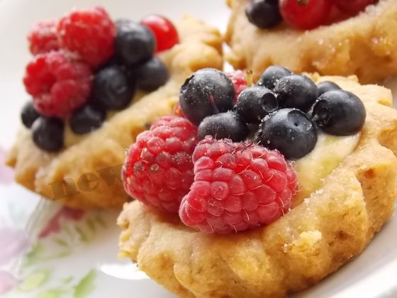 тартинки с ягодами рецепт