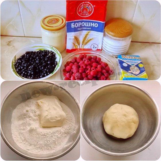 как приготовить тартинки с ягодами