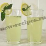 Лимонный лимонад с мятой