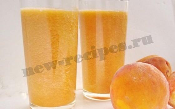 сок фреш из нектаринов