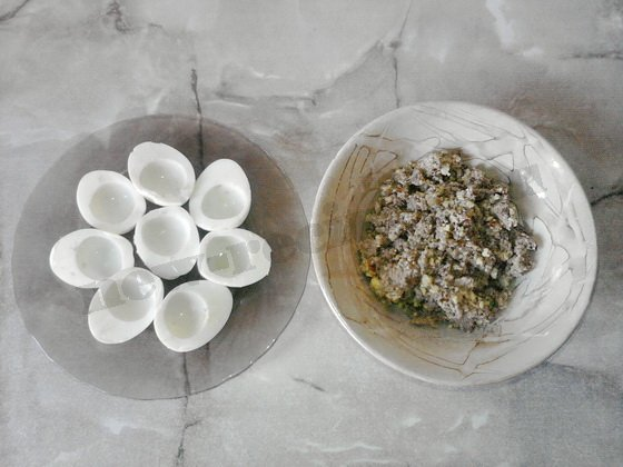 как сделать фаршированные яйца
