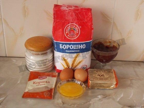 ингредиенты для домашних медовых пряников