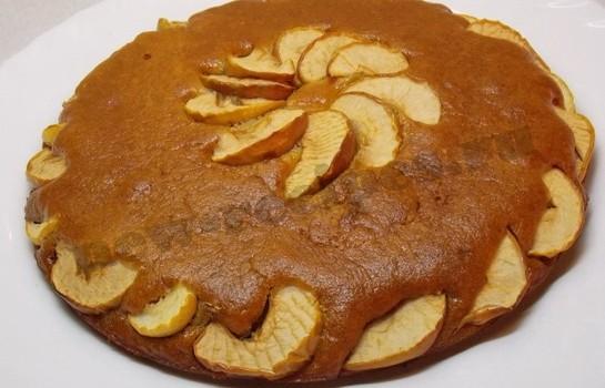 медовая коврижка с яблоками фото рецепт