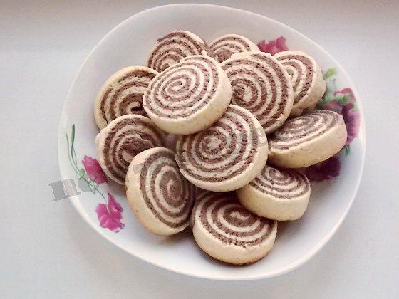 песочное печенье серпантин