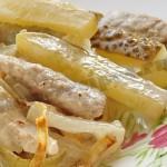 Вкусный мясной салат «Говядина + солёный огурец»
