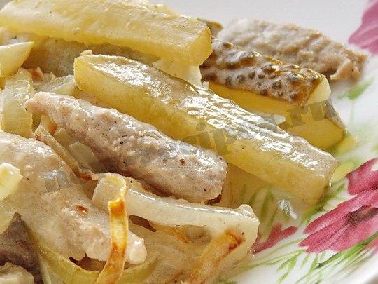салат говядина солёный огурец