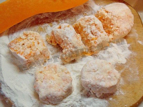 приготовление сырников с тыквой