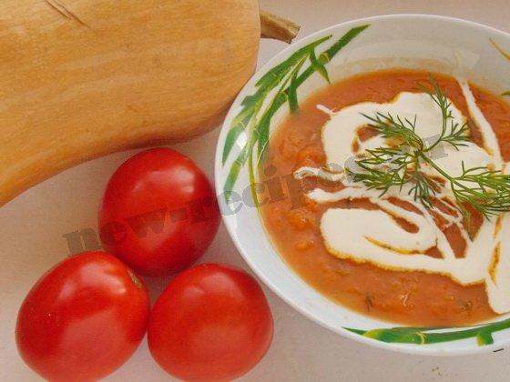 тыквенный суп-пюре фото рецепт