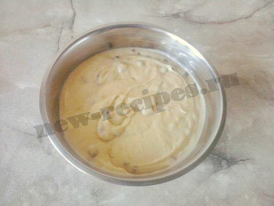 пышное тесто для ванильных кексов