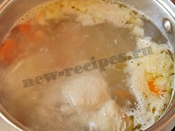 добавим овощи в суп