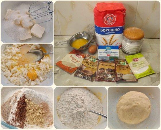как приготовить имбирное печенье на Новый Год