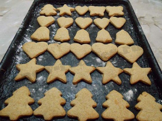 выпекаем имбирное печенье