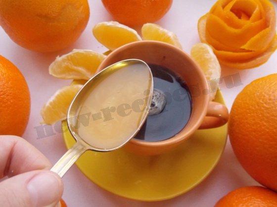 добавим в кофе апельсиновый сок