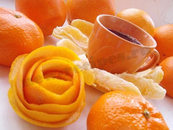 кофе с апельсинами