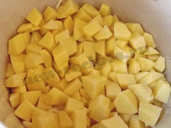 добавим картошку