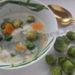 суп с брюссельской капустой рецепт