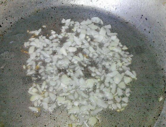 обжарим лук