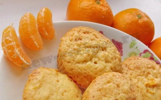 мандариновые кексики