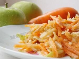полезный сладкий салат