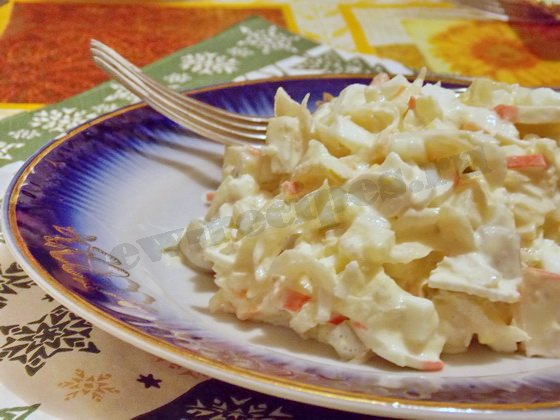 необычный вкусный салат рецепт