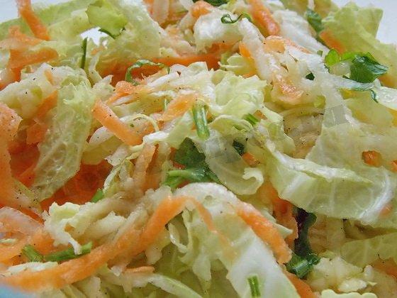 салат капуста с подсолнечным маслом