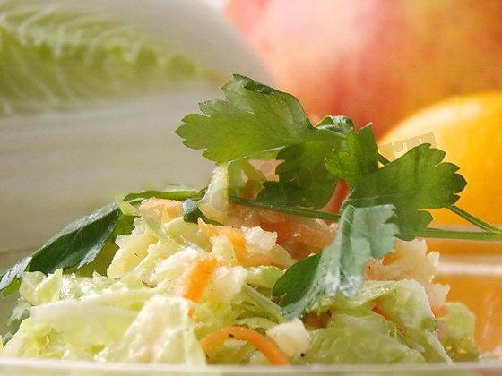 простой салат пекинская капуста яблоко
