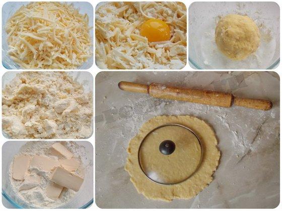как сделать дома сырные крекеры