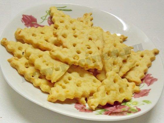 печенье кусочки сыра