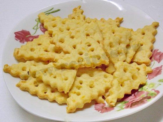 печенье крекер с сыром
