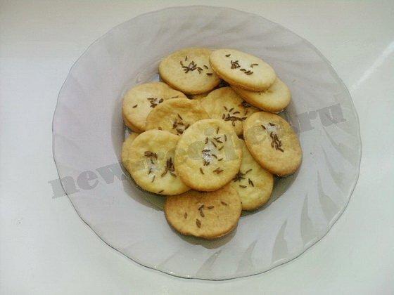 пивное печенье солёное
