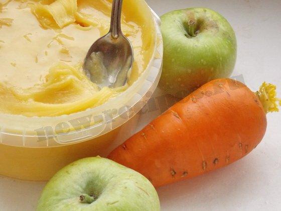 ингредиенты для салата морковка яблоко мёд