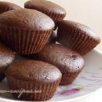 постные шоколадные кексы фото