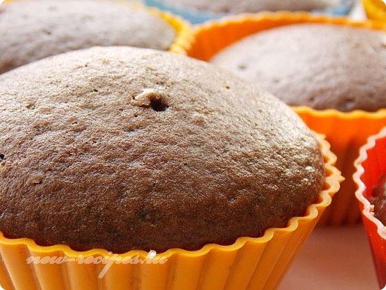 выпекаем постные шоколадные кексы