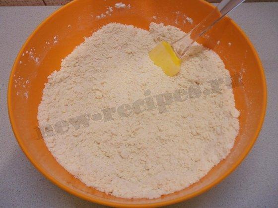 готовим сухую смесь для теста