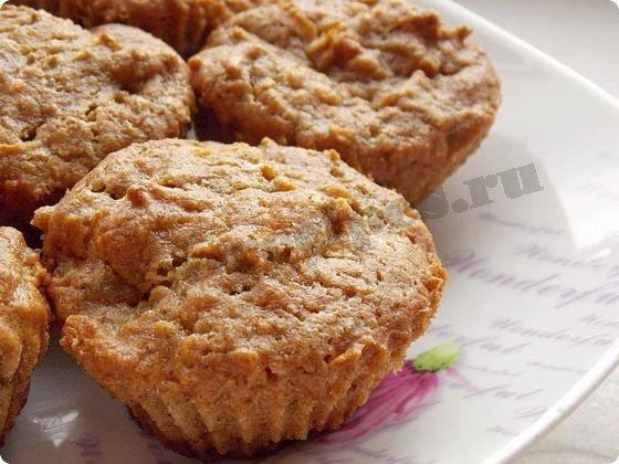ржаные кексы с яблоками фото
