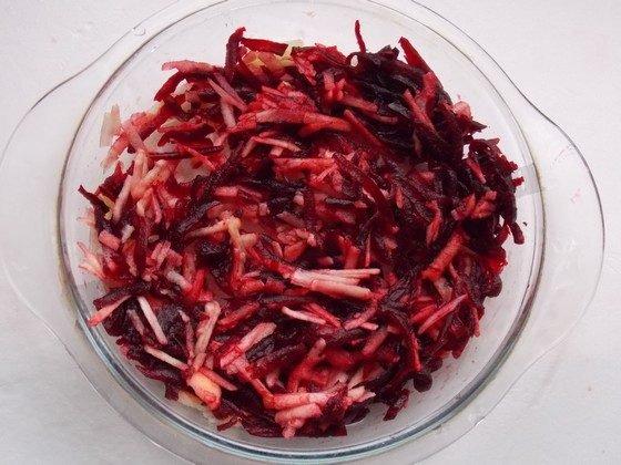 перемешаем салатик