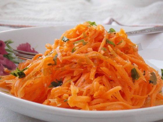 вкусная домашняя морковка по корейски