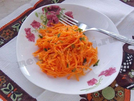 как приготовить дома морковку по корейски