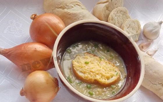 французский луковый суп фото рецепт