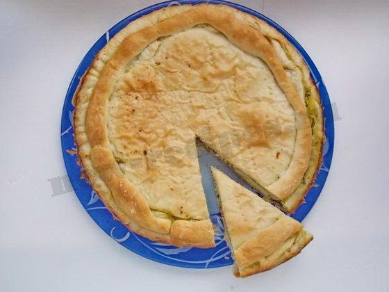весенний слоёный пирог