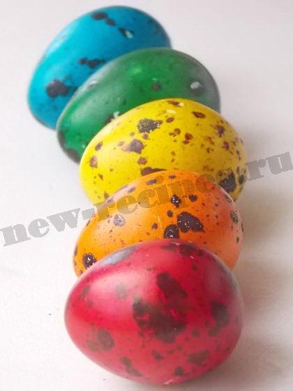 крашанки из перепелиных яиц